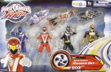 Power Rangers RPM Rapid Pursuit Gift Set Blue Lion Red Eagle Black Wolf & Gold