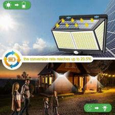 Solar Powered 288 LED PIR Motion Sensor Wall Light Garden Outdoor Lamp Lighting