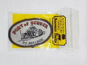 Port of Echuca P.S Adelaide, Collectable Souvenir Sew on Patch / Badge (NOS)