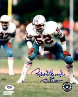 Robert Brazile autographed signed inscribed 8x10 photo Houston Oilers PSA COA
