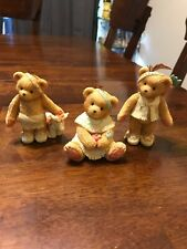 cherished teddies lot 617172 & 617121 & 629707