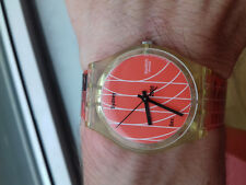 Swatch GENT VINTAGE COLLECTION (2000)GK324 Take Your Marks watch COLLECTOR NOS