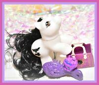 ❤️My Little Pony MLP Vtg G1 Style HQG1C BATTY BOO Baby Newborn Halloween❤️