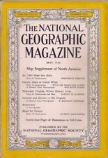 national geographic-MAY 1942-FAMILY AFOOT IN YUKON WILDS.