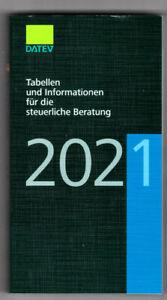 DATEV Tabellen & Informationen für die steuerliche Beratung 2021 NEU
