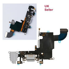 "iPhone 6s (4.7"") USB Charging Port Mic Headphone Jack Ribbon Flex Cable grey"