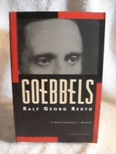 Goebbels by Ralf G Reuth 1994 1st Harvest Edition Book