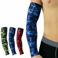 Men Arm Sleeve Arm Arthritis Elbow Support Brace Sport UV Sun Protection Sleeves