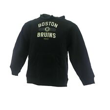 Boston Bruins Official NHL Apparel Youth Kids Size Hooded Sweatshirt New Tags