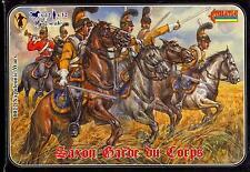 Strelets Models 1/72 NAPOLEONIC WAR SAXON GARDE DU CORPS Mounted Figure Set