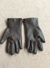 Ladies Size Medium-Large Berketex Chocolate Brown PVC Driving Gloves