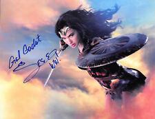 New Art Print of Autographed Celebrity Photo 8  X 10 Gal Gadot Wonder Woman