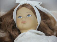 VINTAGE HEIDI OTT HANDMADE SWISS DESIGN DOLL, EVI, IN BOX, 12 INCHES