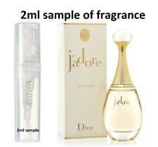 Christian Dior J'Adore women's Perfume Eau De Parfum EDP 2ml sample 100% genuine