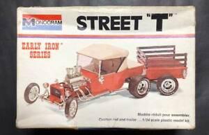 "Monogram Ford Street ""T""  Early Iron Sereis 1/24 Model Kit #15136"