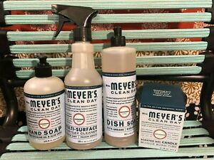 *Limited Edition 2020* Mrs. Meyer's Clean Day Snowdrop Full Set with Candle