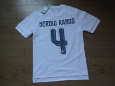 Real Madrid #4 Sergio Ramos 100% Original Jersey 2015/16 Home Japanese L(S-M)