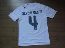 Real Madrid #4 Sergio Ramos 100% Original Jersey 2015/16 Home Japanese L(S-M)