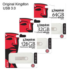 NEW Kingston 32GB 64GB 128GB USB Flash Drive Memory Stick USB 3.0