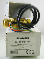 Sangamo 2 Port Central Heating 22mm Zone Valve Replacement for Honeywell 4043