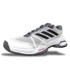 Adidas Barricade Club Mens Tennis Shoes White/Grey-Black CM7782 Clay Court (NEW)