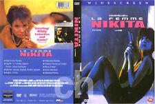 La Femme Nikita, Nikita (1990) - Jean Reno, Anne Parillaud, Jean-Hugues  DVD NEW