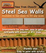 """Chooch 8516 Steel Seawall - Large 11.75"""" x 3.75"""" (Flexible Vinyl) MODELRRSUPPLY"""