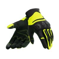 Gants Moto Dainese Aerox Black Yellow Fluo Taille L Printemps Summer