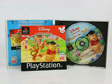 Sony Playstation 1 PS1 PAL OVP Disneys Frühes Lernen Winnie Puuh CD neuwertig