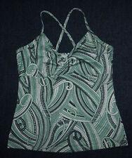 prAna Mint Green Tank Top with Bra, Women's sz S