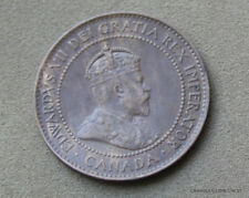 1905  CANADA ONE CENT EDWARD V11 LUSTRE NICE  WORLD COIN #JFM10