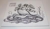 RUBEN AQUINO - WALT DISNEY ANIMATOR SIGNED ORIGINAL URSULA DRAWING ARTWORK w/COA