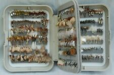 Dry Trout Flies With Box (Over 300 Flies!) - Fly Fishing Assortment