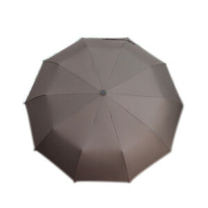 Strong Windproof 10-Rib Super Wide Automatic Folding Umbrella Outdoor 46 Inch ES
