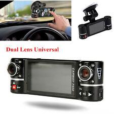 """Car DVR 2.7"""" Dual Camera 180° Rotated Lens Night Vision Dash Cam Video Recorder"""