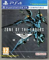 ZONE OF THE ENDERS the 2nd Runner MARS  VR   'New & Sealed'  *PS4(Four)*