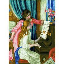 Diamond DOTZ Girl's at The Piano (renoir) 48 X 66cm