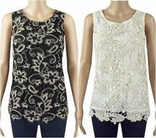 Unbranded Fitted Formal Floral Tops & Shirts for Women