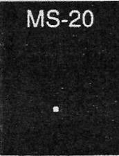 Plastruct MS-20 Fine Line Plastic Square Rod 0.20 (0.5mm)