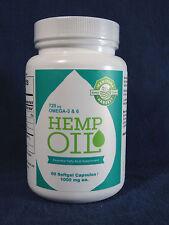 * Manitoba Harvest Hemp Seed Oil, 60 soft gel capsules