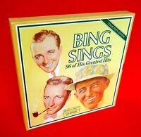 BING CROSBY-Bing Sings 96 Of His Greatest Hits-8LP Box Set-1978-Readers Digest