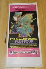 Five Summer Stories Plus Four - Rick Griffin 13x29in. 1976 Surfing Film Poster