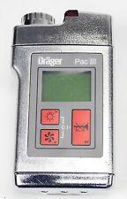 Drager Pac III Hygiene 4530011 Permissible Gas Monitor Detector Sensor
