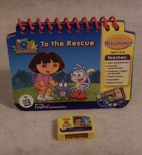 LEAP FROG MY FIRST LEAPPAD Dora The Explorer To The Rescue Book & Cartridge