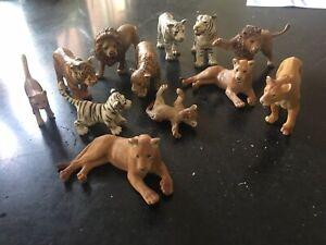 Schleich animals Bulk Lot Big Cats