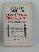 Revista Anales Históricos de La Revolution Francaise Jul-Sept 1964 N º 177