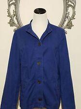 $119.00 Talbots Jacket Coat Navy Top Size 16 P  XL NWT