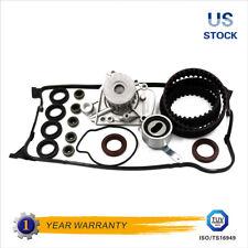 Timing Belt Kit Water Pump Fit 96-00 Honda Civic De Sol Valve Cover D16Y7 D16Y8