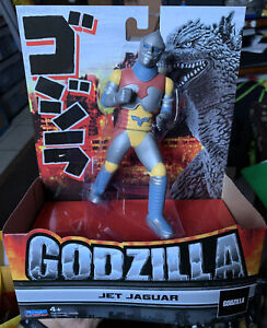 "Godzilla Playmates Toys 6.5"" Jet Jaguar Action Figure 2021 NEW IN HAND"