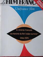 Le Film Français N°1552 (18/10/1974) Spécial export - JC Edeline